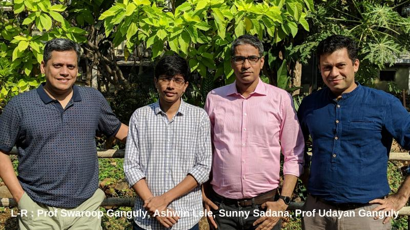 Prof Udayan Ganguly and team win the PK Patwardhan Technology Development Award for an Indian Solution to Secure Electronic Chips