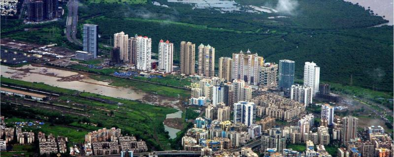 Indian Institute of Technology Bombay study used digital processing of archived satellite images to study the growth patterns in the Mumbai Metropolitan Region.