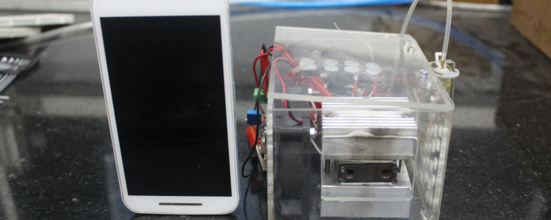 Mini-fuel engines could replace batteries in the future